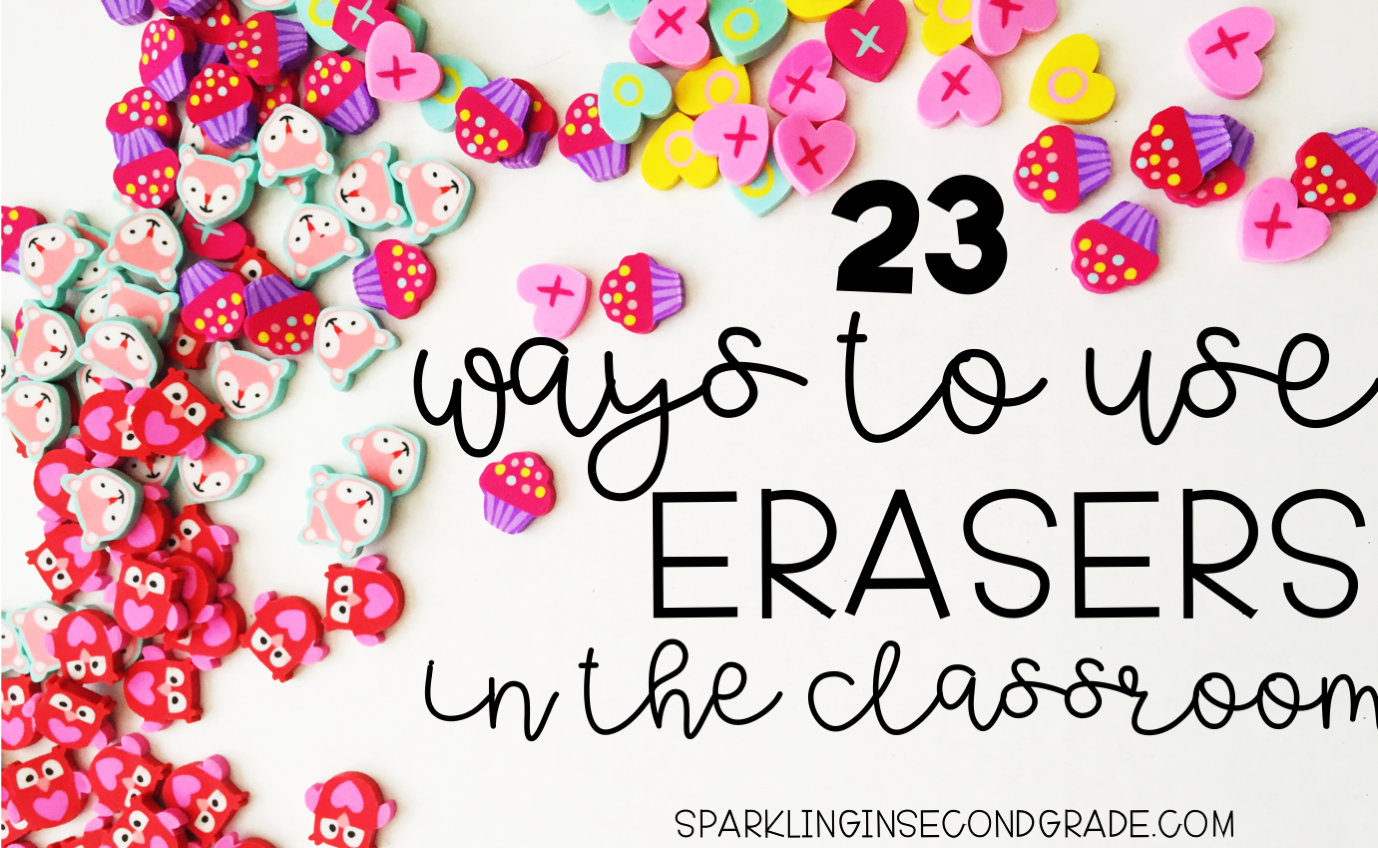 23 Ways To Use Target Dollar Spot Erasers