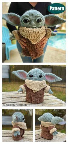 10+ Star Wars Yoda Crochet Patterns #cutecrochet