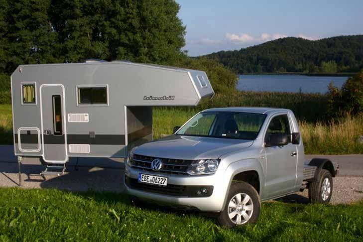 bimobil husky 270 amarok single cab campers truck camper off road camper et vehicles