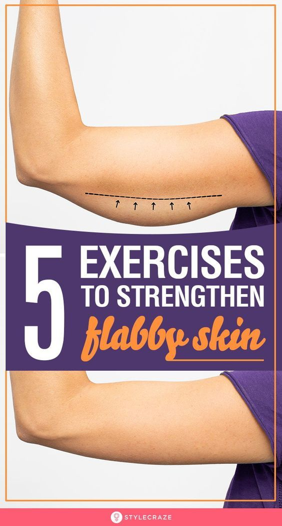 Strengthen Flabby Skin With These Amazing 5 Exercises: Skin that sags and hangs on to your body like a poorly draped curtain can be very hard to get rid of indeed! Exercises can still help you tighten loose skin. And so can diet! But diet alone won't do anything, which makes exercising an absolute must. In this article, we'll focus on exercises that'll help you lose saggy skin. #Health #Fitness #FlabbySkin #Exercises