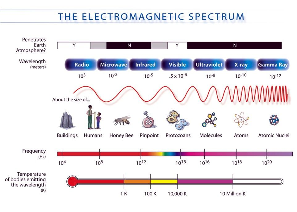Physics For Kids Types Of Electromagnetic Waves Electromagnetic Spectrum Physics And Mathematics Physics