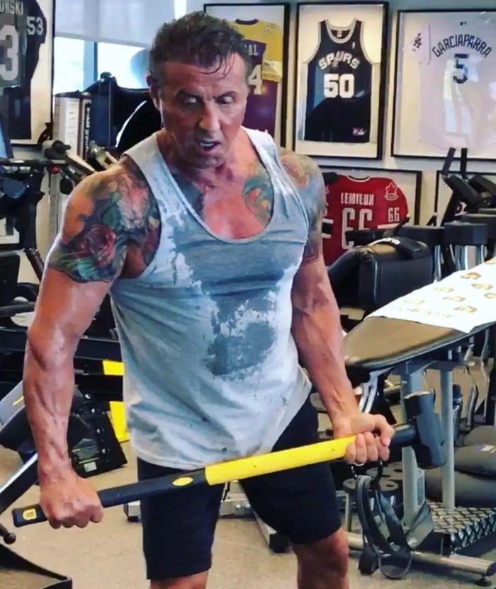 2019的72 years old. Preparing for Rambo 5   SAKAI ...