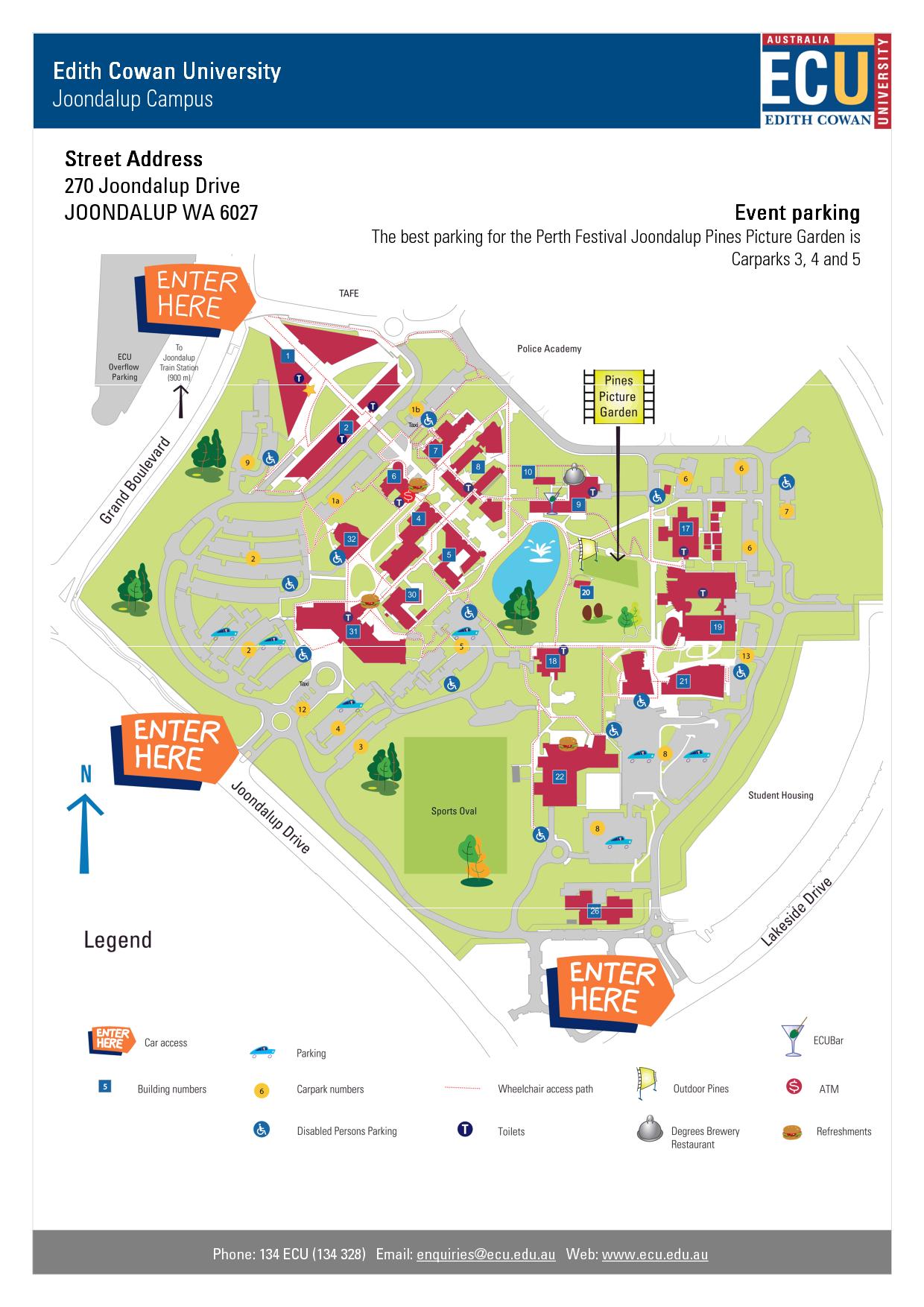 Edithcowanuniversity Ecu Maps Jndlp Joondalup Random Stuff