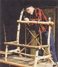Making Rustic Furniture - Do It Yourself #twigfurniture
