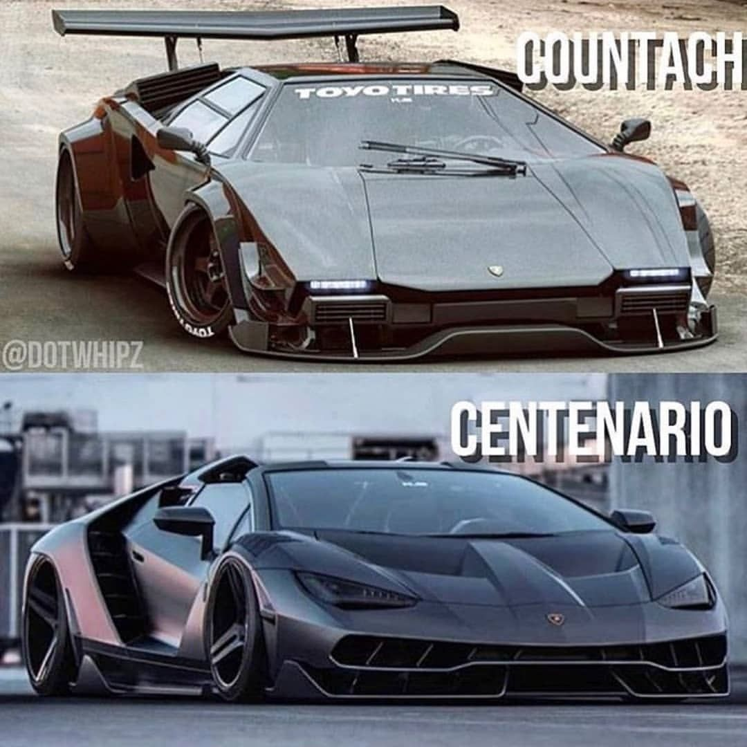 Old Vs New Follow Exclusive Supercar Exclusive Supercar Exclusiv Lamborghini Countach Best Luxury Cars Super Cars