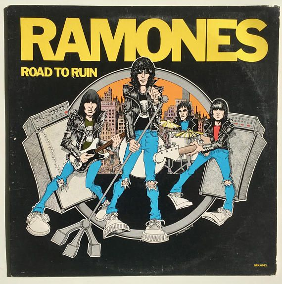 Ramones Road To Ruin Lp Vinyl Record Album Sire Srk