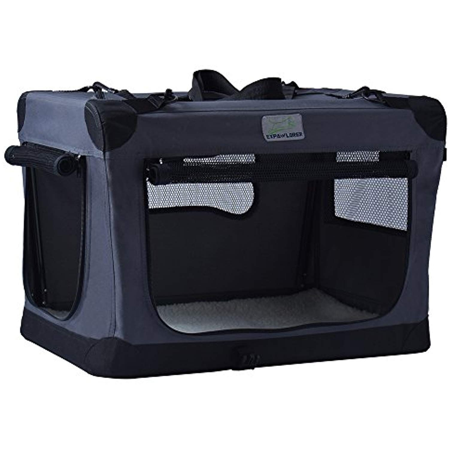 Expawlorer Collapsible Foldable Dog Crate Indoor Dogs Foldable Dog Crate Dog Crate Crates