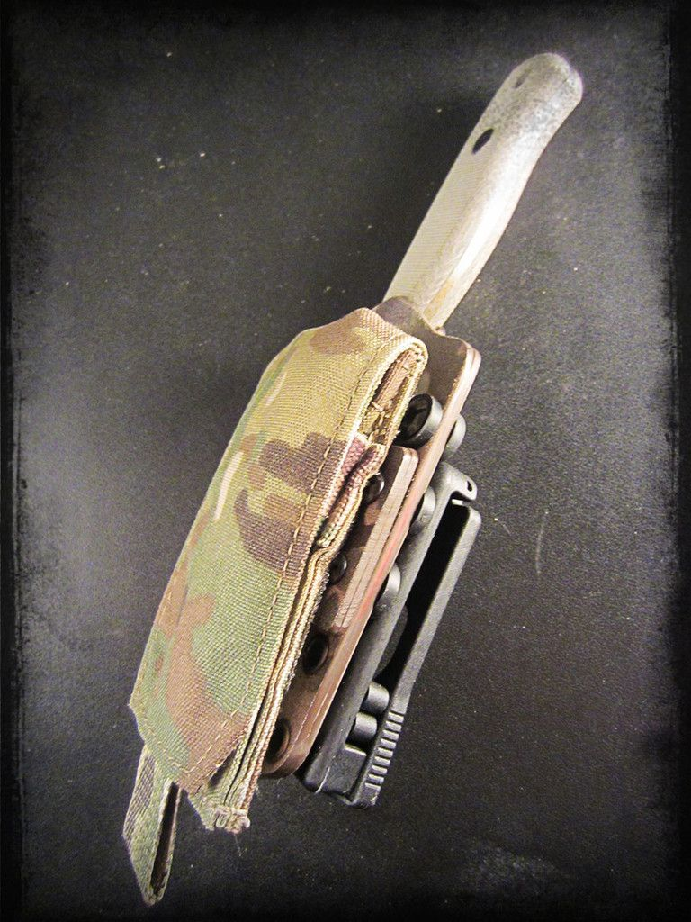 Up For Grabs Is A Knife Amp Sheath Kit For The Incomparable