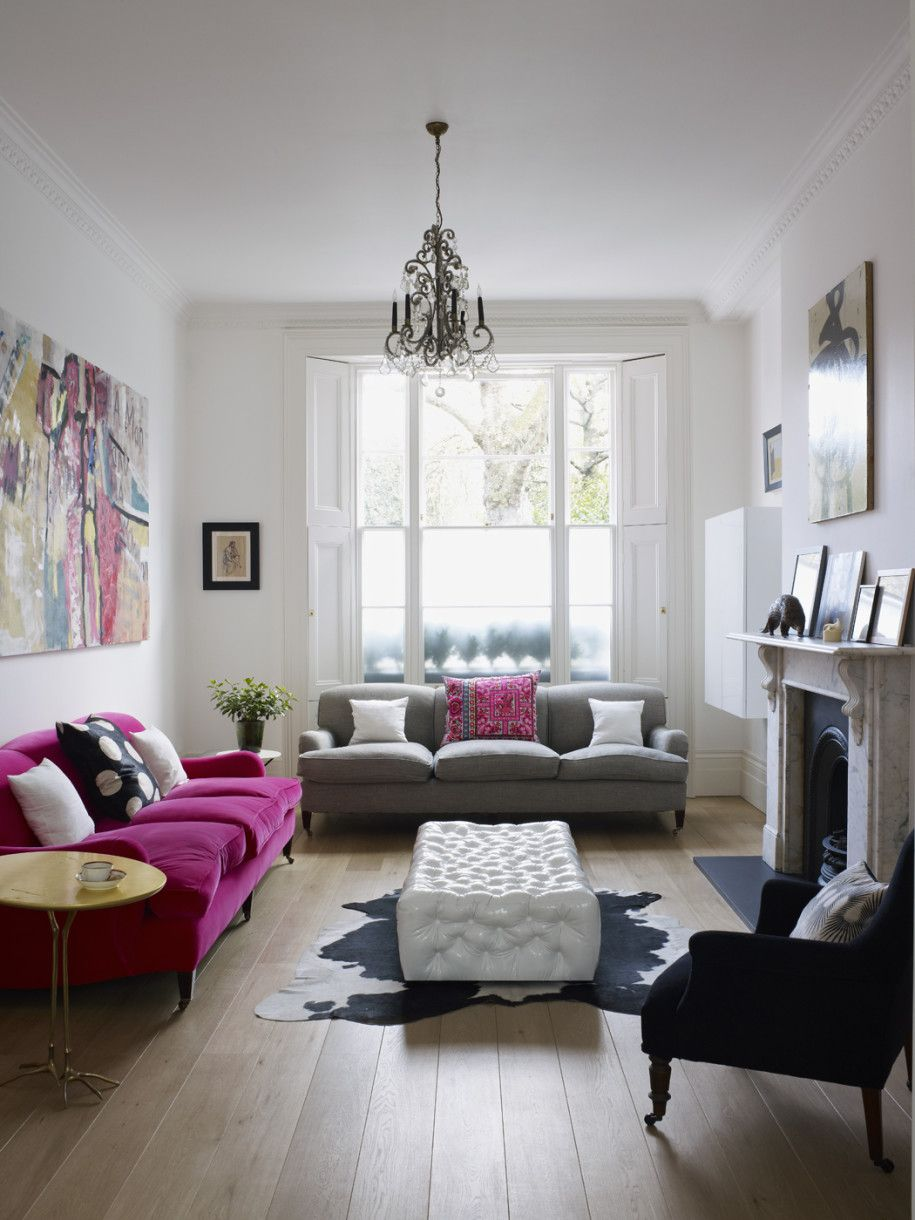 awesome-modern-bright-home-design-with-white-black-purple-sofa ...