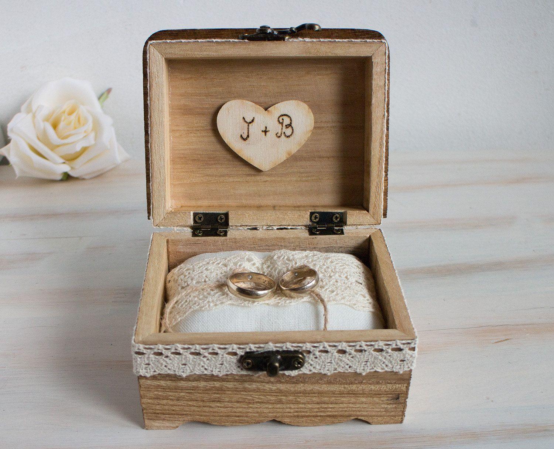 Ring bearer box, Customizable ring box, Wedding ring box, Personalized  wedding box, Ring Holder, Engagement ring box, Pillow Alternative#alternative #bearer #box #customizable #engagement #holder #personalized #pillow #ring #wedding