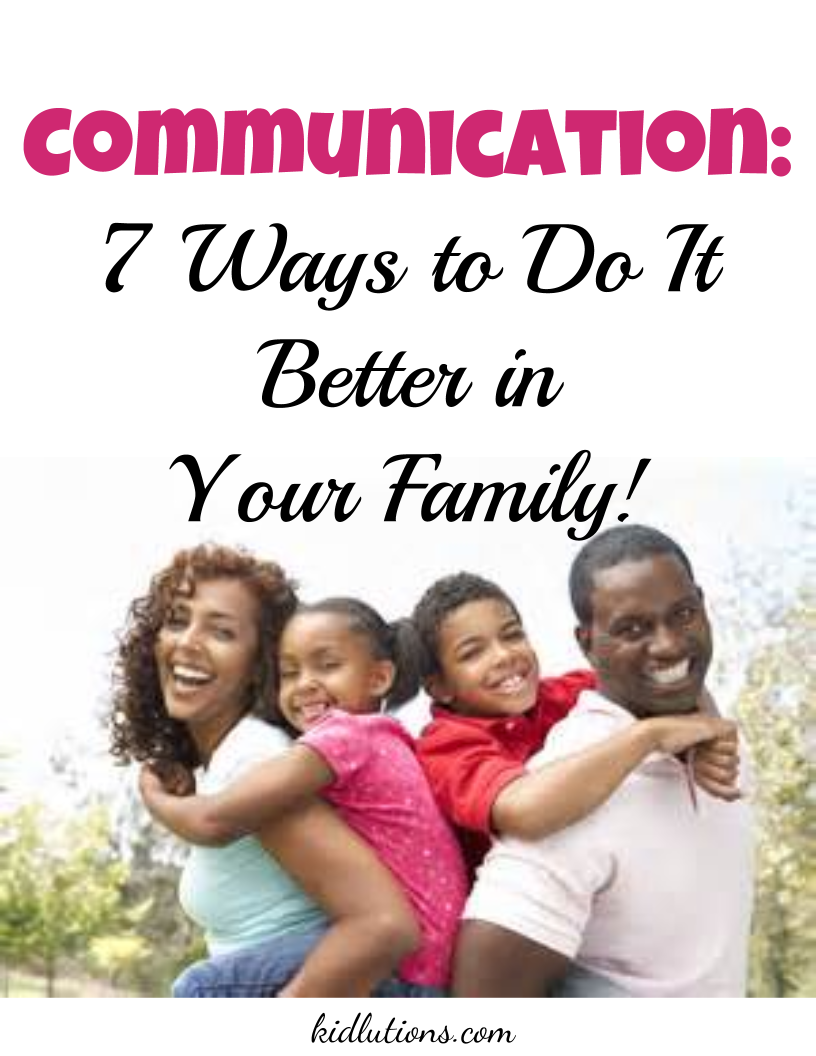 """Spin-Doctor Parenting"": Communicate: 7 Ways to Do It Better in Your Family..."