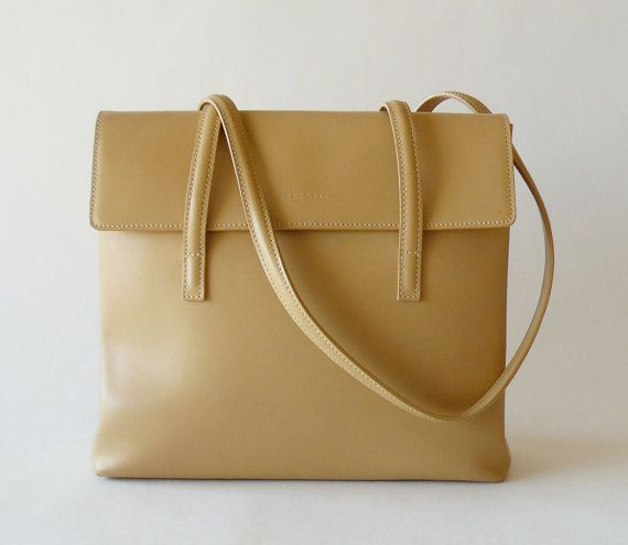 c951217e96 Authentic Frederic T Paris Tan Leather Shoulder Bag Made in France ...