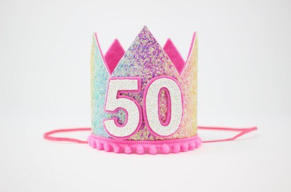 50th Birthday Crown