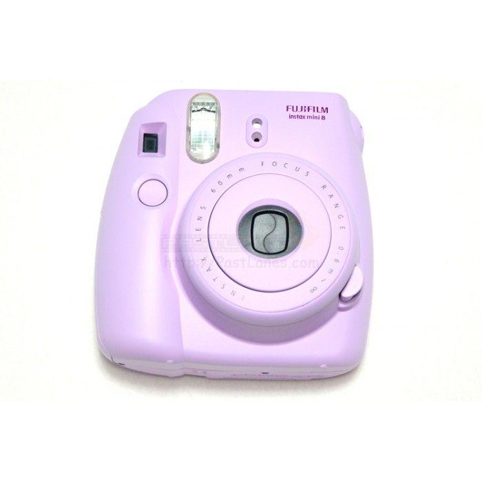 instax mini 8 polaroid camera purple my polyvore finds. Black Bedroom Furniture Sets. Home Design Ideas