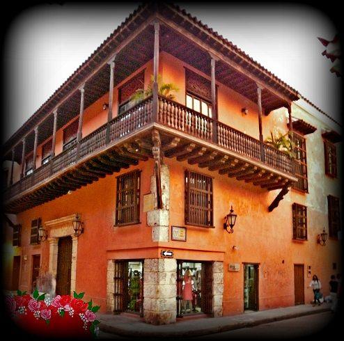 Casas coloniales,Cartagena de Indias,Colombia