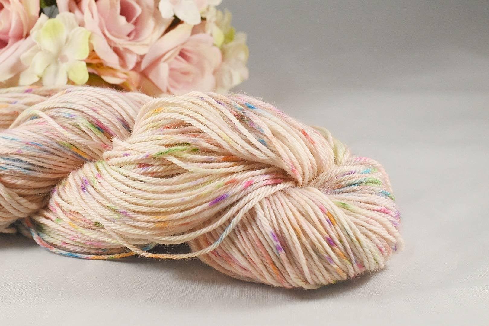 Confetti yarnspeckled yarn dotted yarnsuperwash merino