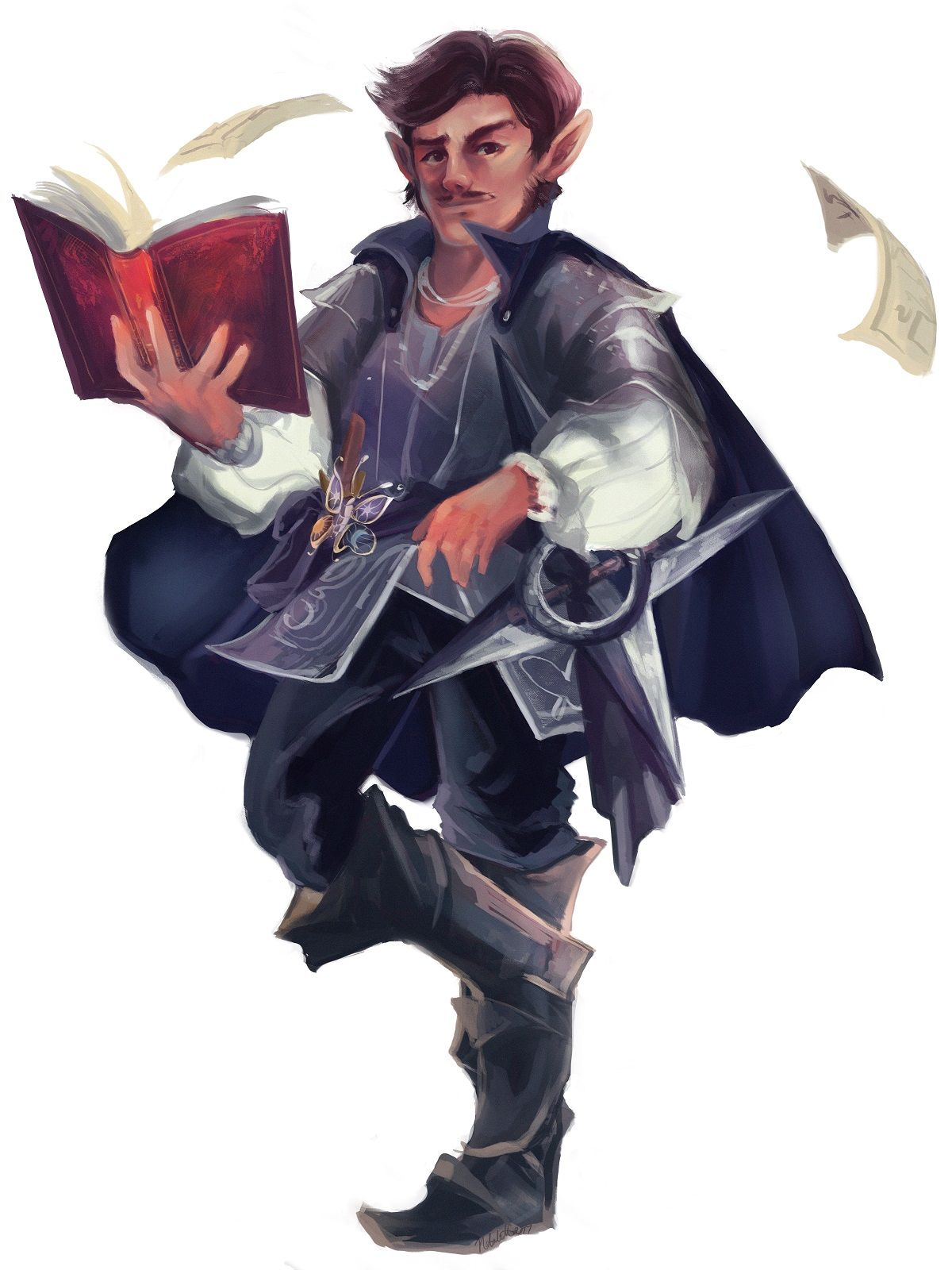 Oc Art Awesome Art Piece Of My Halfling Cleric Check That Holy