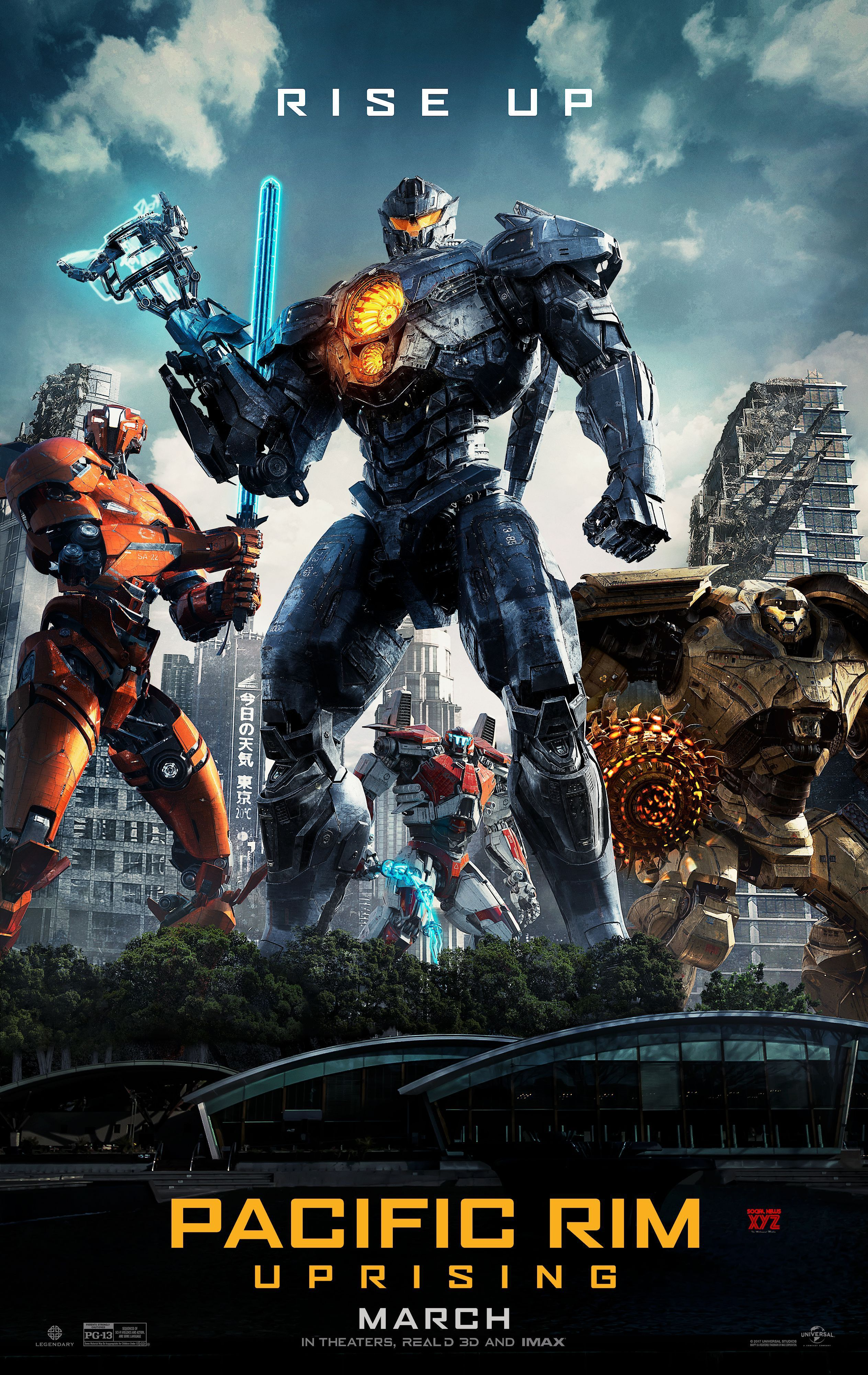 Pacific Rim Uprising Movie Latest Poster Streaming