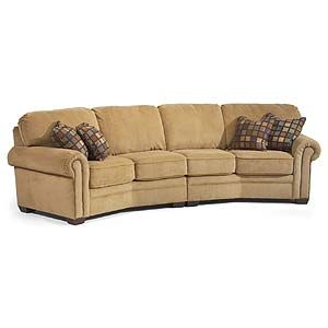 Captivating Flexsteel Harrison Conversation Sofa