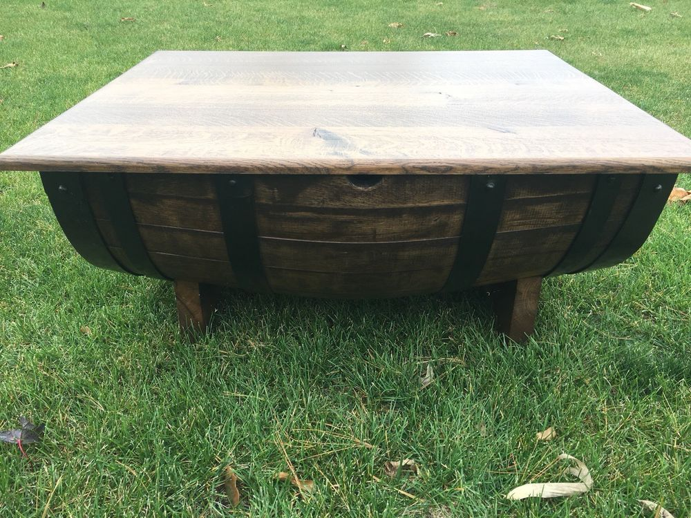 Wine Barrel Coffee Table 55000 End Date Tuesday Dec 11 2018 19
