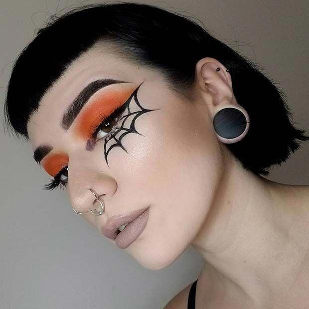 45 Pretty DIY Halloween Makeup Looks & Ideas   StayGlam