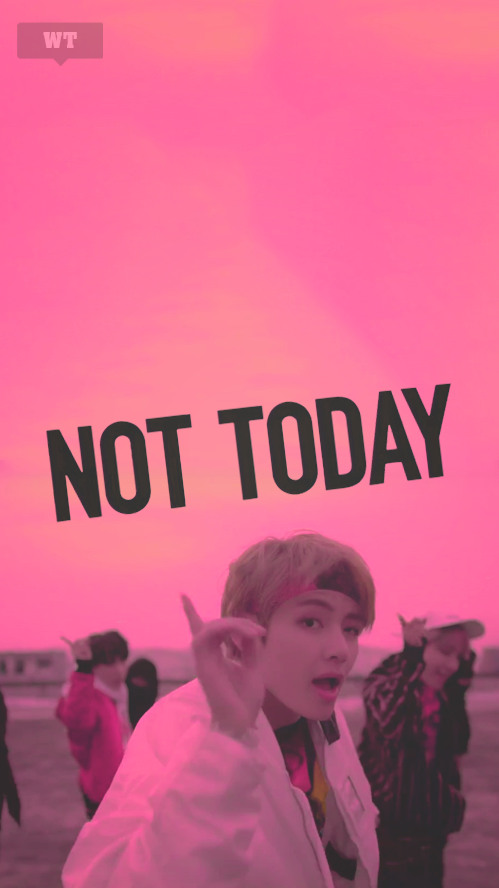 bts not today wallpaper | Tumblr | A : WALLPAPERS | Bts