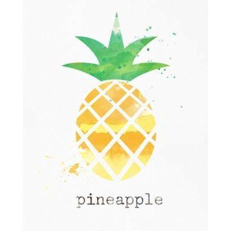 Pineapple Canvas Art - Linda Woods (24 x 30)