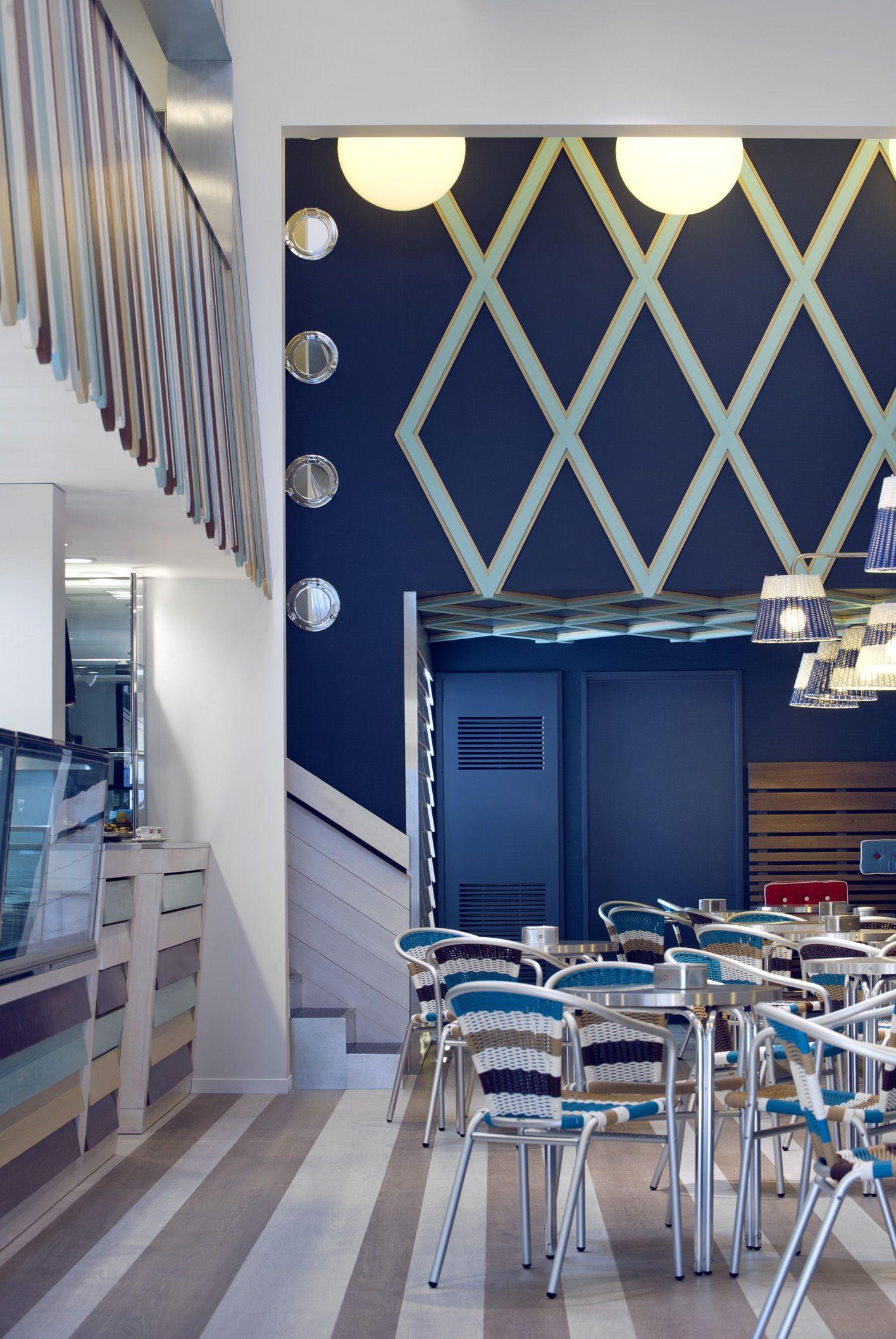 Arredamento e design d 39 interni per la gelateria possi for Design d interni