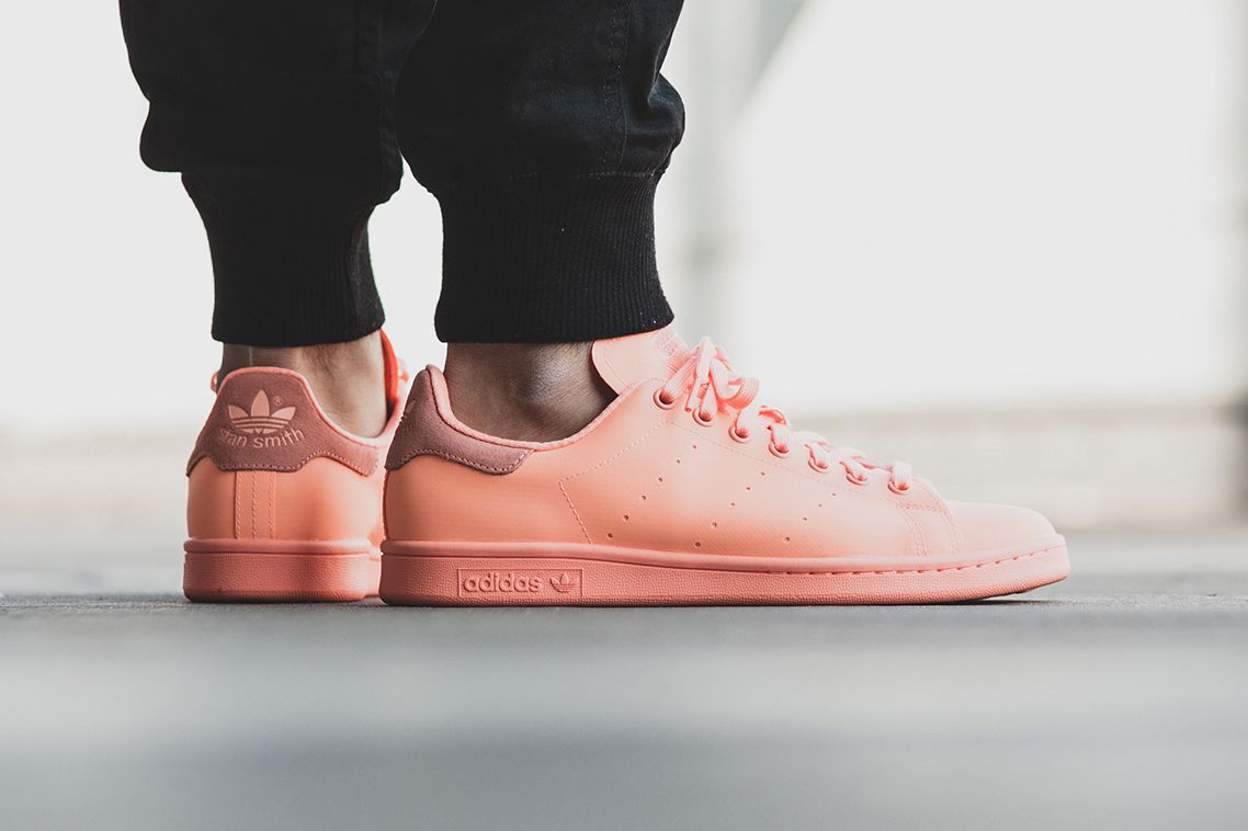 new product 9793f 1a7d4 The adidas Originals Stan Smith adicolor Dazzles in