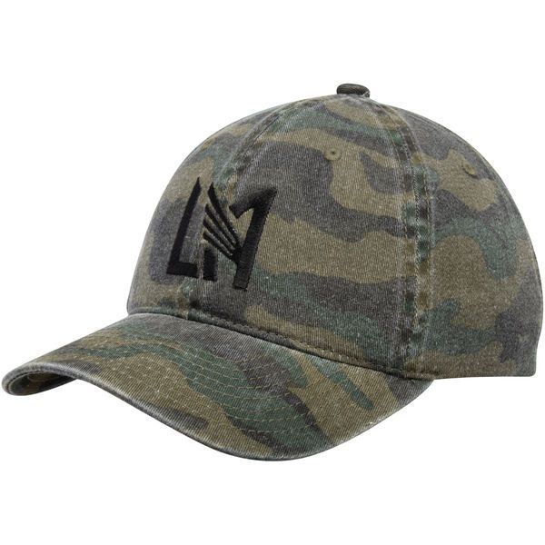 best website a7716 99478 Men s LAFC Mitchell   Ness Camo Logo Dad Adjustable Hat,  23.99