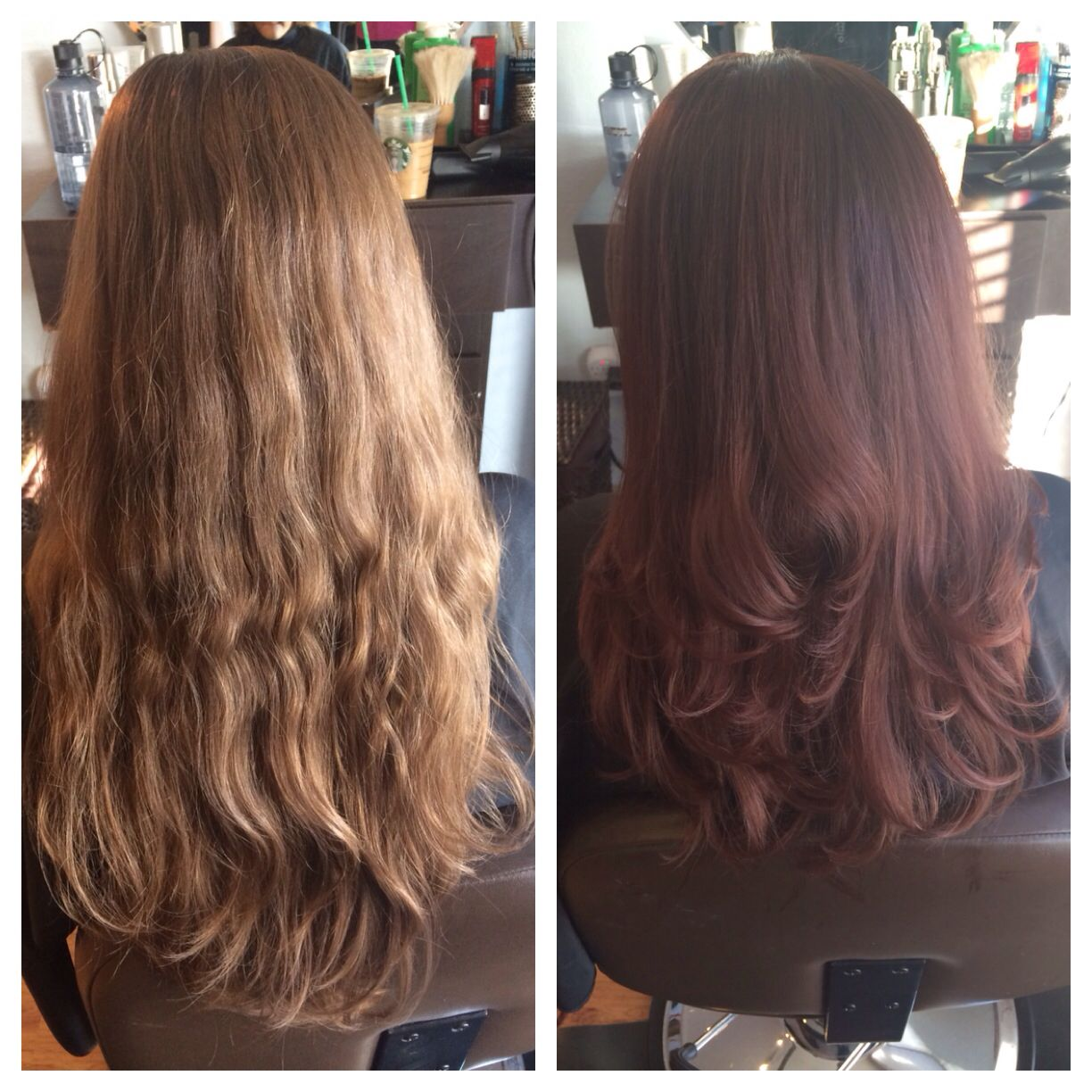 Custom Kenra Demi Permanent Color Formulation With 7rb 7n And 6rc Colormekenra