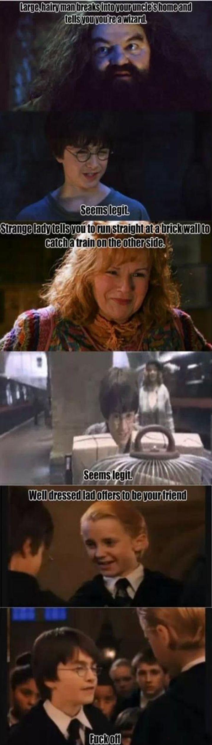 Potter Logic Lolsnaps Harry Potter Funny Harry Potter Memes Hilarious Harry Potter Puns