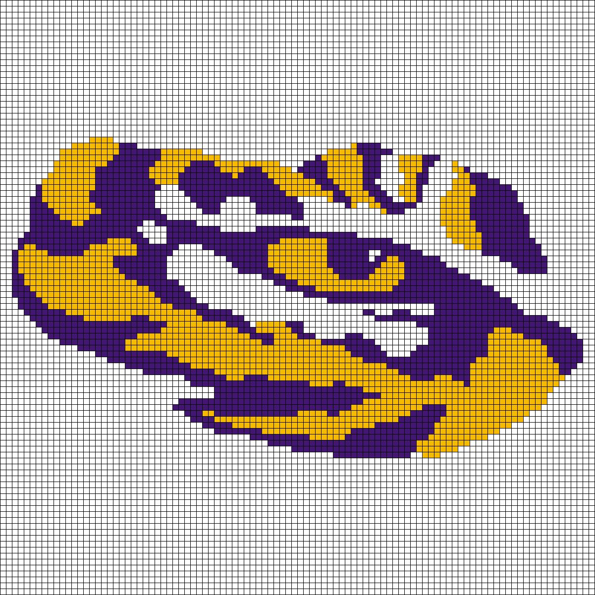 Can someone build a lsu cross stitch pattern grid for me can someone build a lsu cross stitch pattern grid for me tigerdroppings fandeluxe Gallery