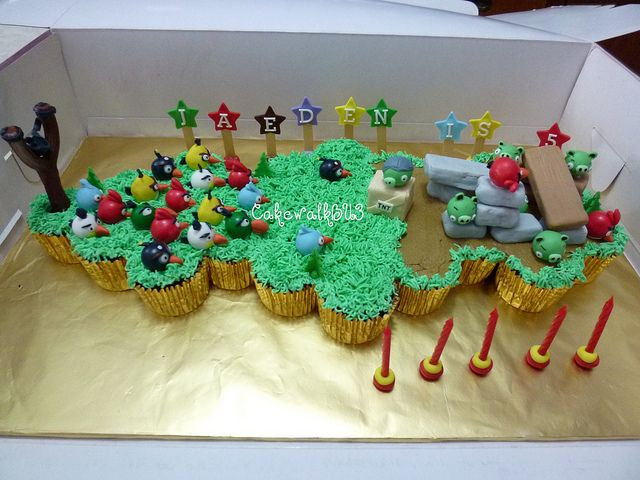 AhhrClub ANGRY BIRDS CAKES Brys 5th Birthday Pinterest Angry