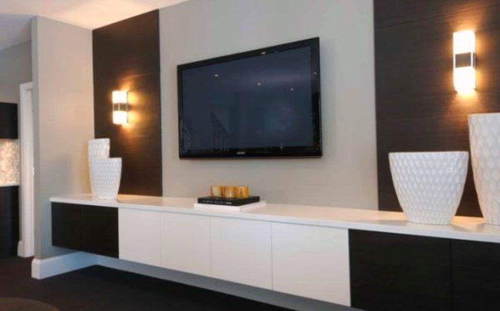 18 Chic And Modern Tv Wall Mount Ideas For Living Room Modern Living Room Wall Living Room Modern Small Living Room