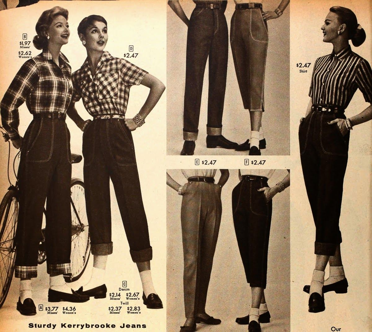 Image result for 50's fashion | 50's fashion | Fashion ...