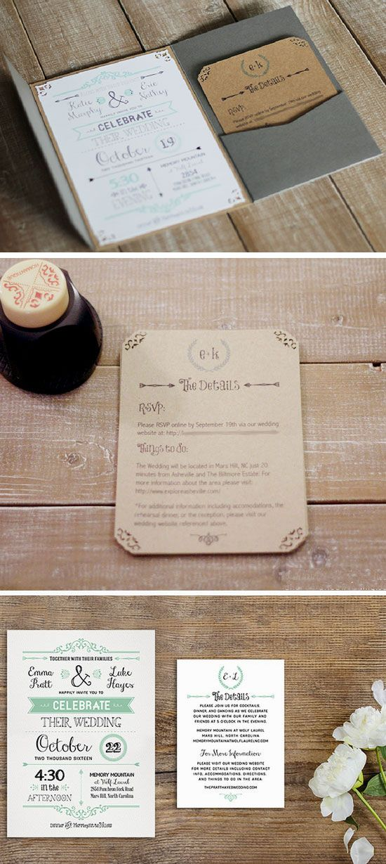 printable samples of wedding invitations%0A Free Printable Template   Easy to Make Wedding Invitation Ideas