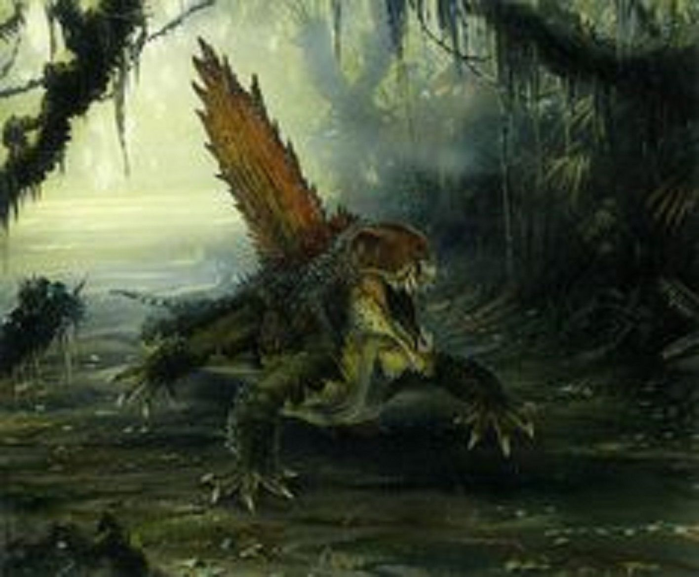 Art illustration { Prehistoric Animals } 恐竜, アート