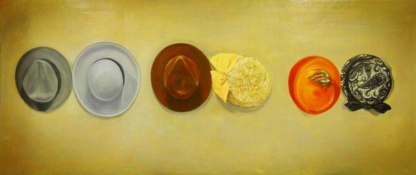 """Sanctity"" 3'X5', oil on canvas, 2007"