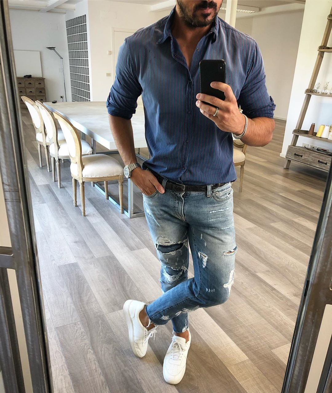 Lastworkday. Mens casual outfits, Mens outfits, Denim