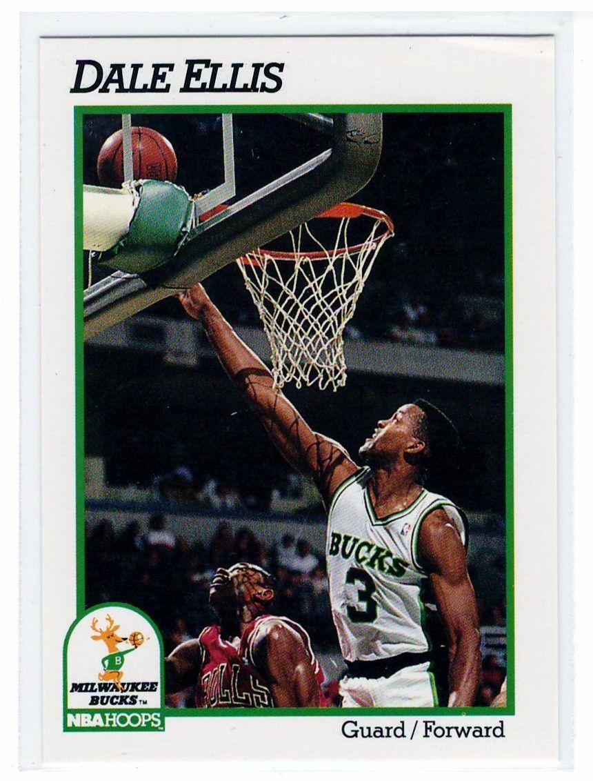 Sports Cards Basketball 1991 NBA Hoops Dale Ellis