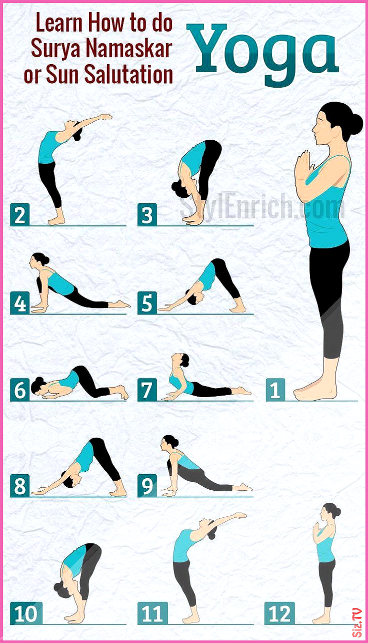 Saludos al sol Yoga para principiantes TopYogaRoutinesAndPoses health fitness yog  Al fitness health...