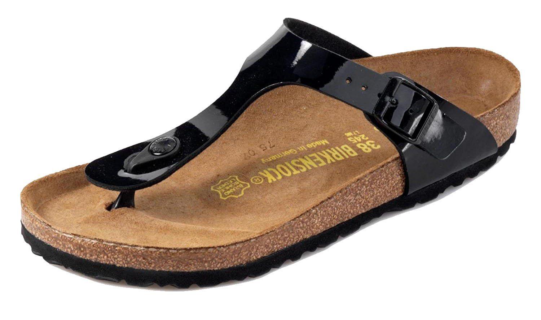 Birkenstock Women's Gizeh T Strap Sandals, Cork Footbed
