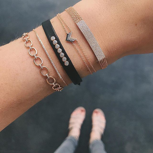Rose Black Kind Of Day These Ef Collection Bracelet Styleore At Our Retailer Broken English Jewelry Xo