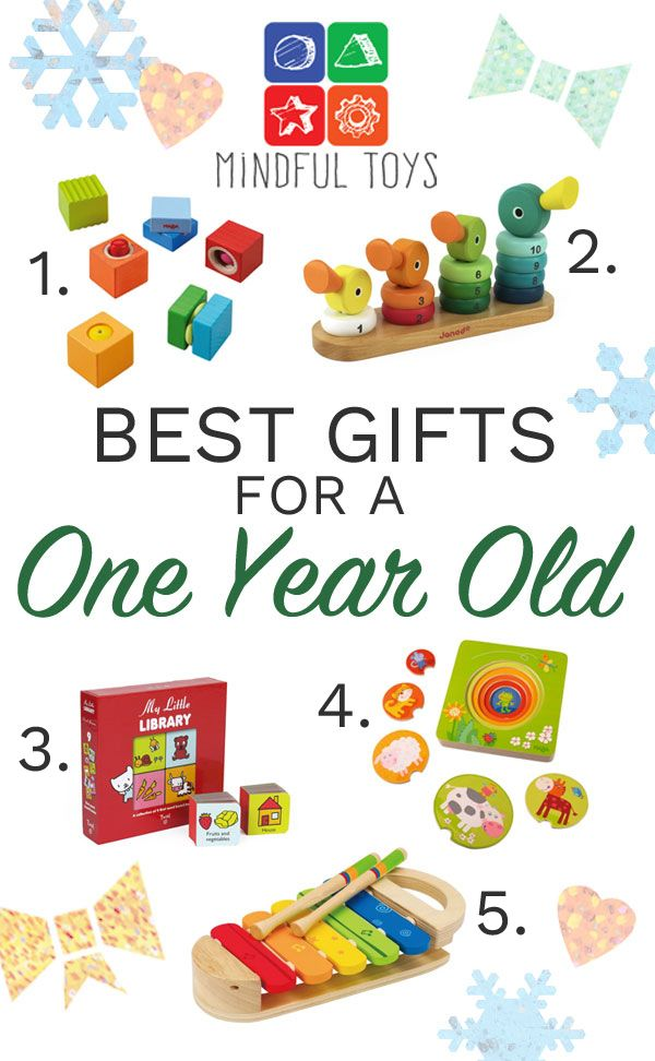 Best Gifts For A One Year Old | One year old gift ideas ...