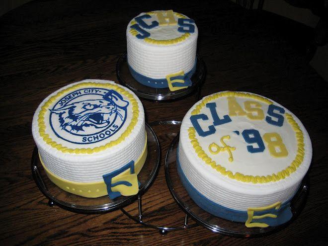 Class Reunion Cake Class Reunion 10 Year Reunion School