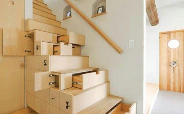 Treppenhaus Gestalten Funktionale Lösung Schubladen