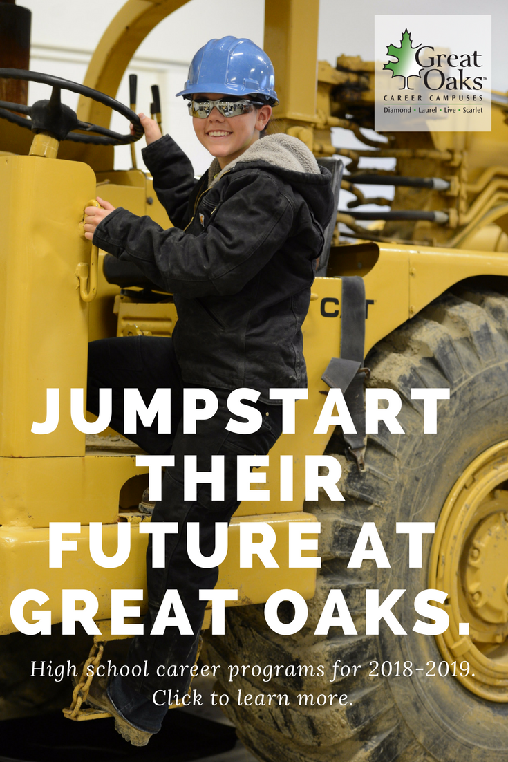 Discover more about Great Oaks high school career programs. Give your teen  the opportunity to explore a career they love and move into a job or  college upon ...