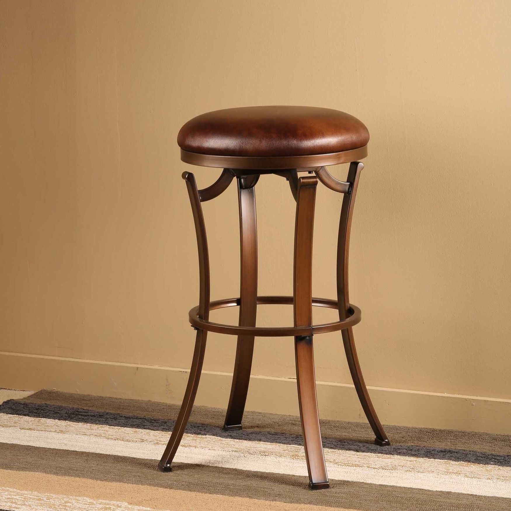 """Sprunt 26"""" Swivel Bar Stool with Cushion Products"""