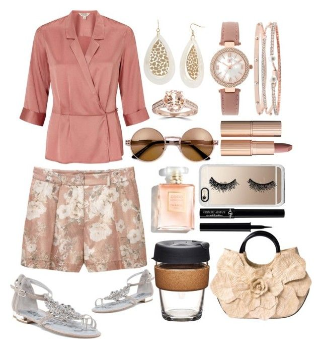 """""""Copper Shades"""" by pulseofthematter ❤ liked on Polyvore featuring Miss Selfridge, MANGO, Anne Fontaine, Bliss Diamond, Boutique+, INC International Concepts, Charlotte Tilbury, Casetify, Giorgio Armani and KeepCup"""